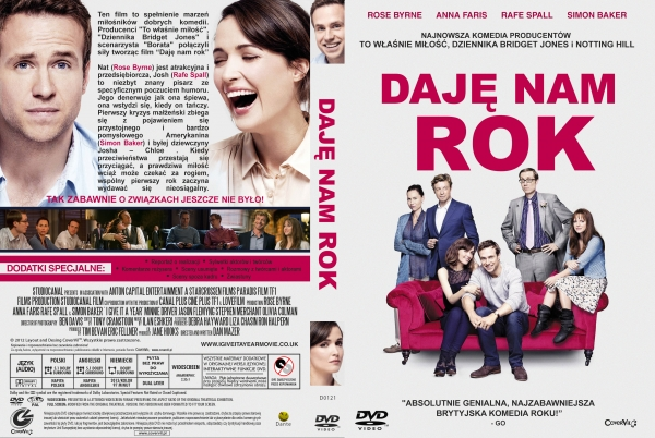 Daje nam rok / I Give It A Year 2013 PL 720p BRRiP.X264.AAC-PBWT